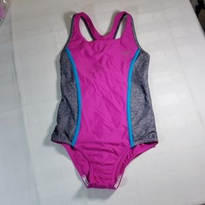 Speedo Girls Racerback Swimsuit NWOT Size 12
